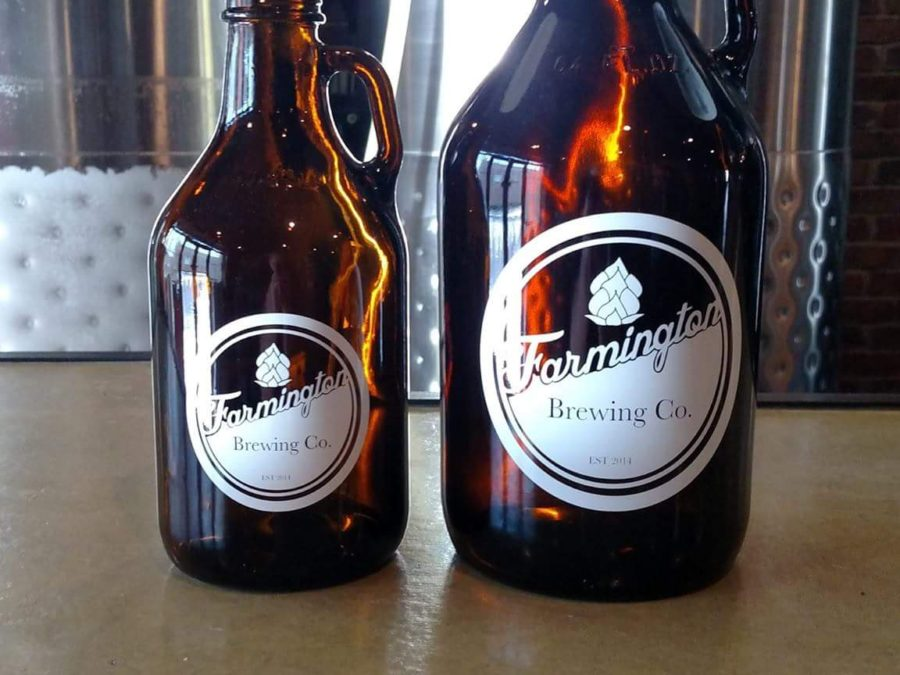 growler and howler at the farmington brewing company